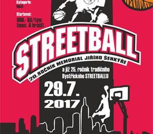 Streetball 2017 - 20. ročník Memoriál Jiřího Šenkýře