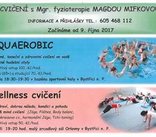 Cvičení s Magdou Mifkovou
