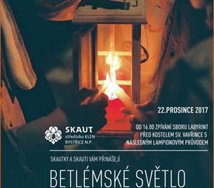 Betlémské světlo 2017