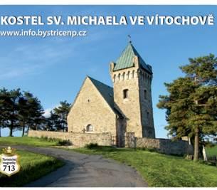 Nová magnetka: kostel sv. Michaela ve Vítochově