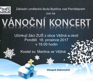 Vánoční koncert v kostele sv. Martina