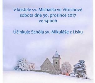 Vánoční koncert v kostele sv. Michaela