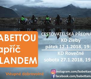 Cestovatelská přednáška: BABETTOU napříč ISLANDEM