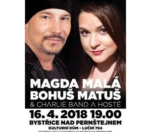 Cesta muzikálem:  Magda Malá a Bohuš Matuš