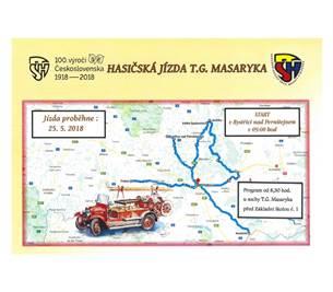Hasičská jízda T.G.Masaryka