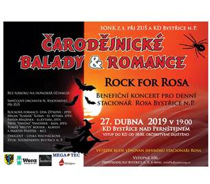 Balady a romance - Rock for Rosa