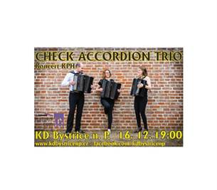Koncert KPH – Check accordion trio